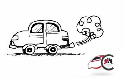 Gas di Scarico Auto – Colori del fumo