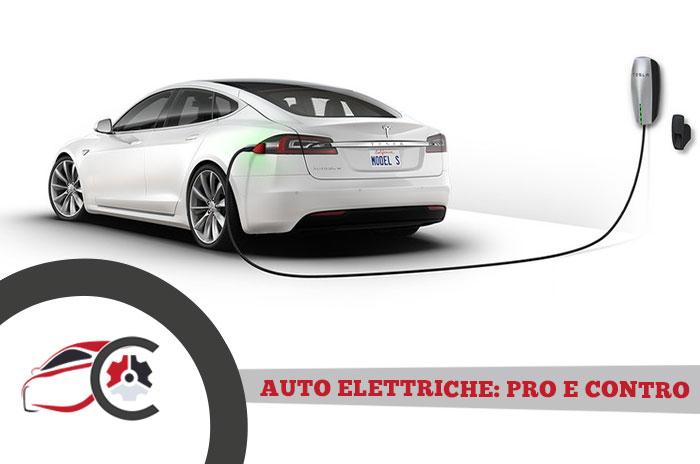 Auto elettriche: pro e contro